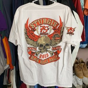 sturgis 7th anniversary t-shirt